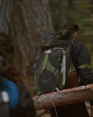 Anna + Giovanni | Mount Hood, Oregon | Tamanawas Falls