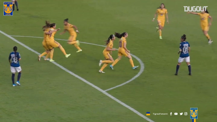 Relive Tigres Womens' goals to advance into the final