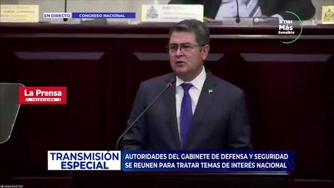 Presidente de Honduras asegura que narcos dan