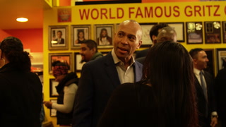 Deval Patrick makes stop in Las Vegas to talk with local businesses and voters – VIDEO