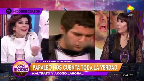 Carolina Papaleo reveló la identidad de la actriz que cacheteó a Mariano Martínez