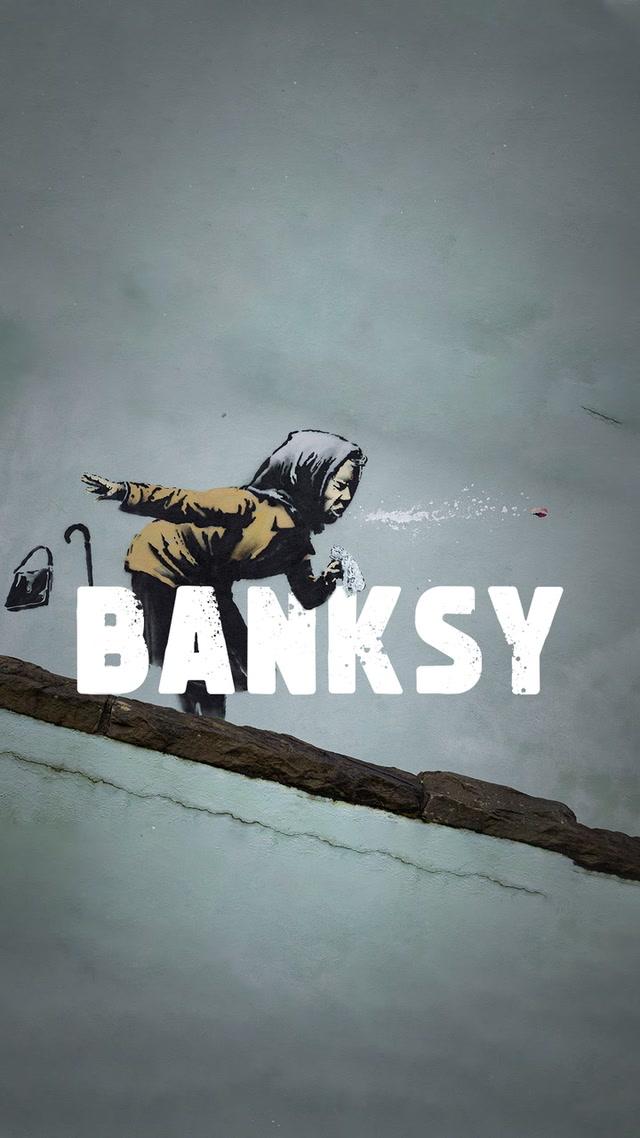 Banksy'nin son eseHAAPŞUU!