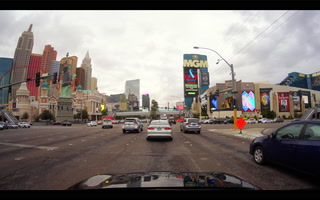 March gloom falls on Las Vegas