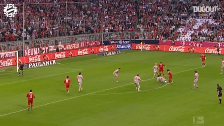Roque Santa Cruz's best goals for FC Bayern