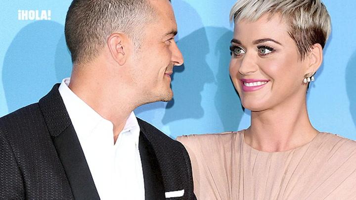 De evitar posar juntos a formar una familia: la historia de amor de Katy Perry y Orlando Bloom