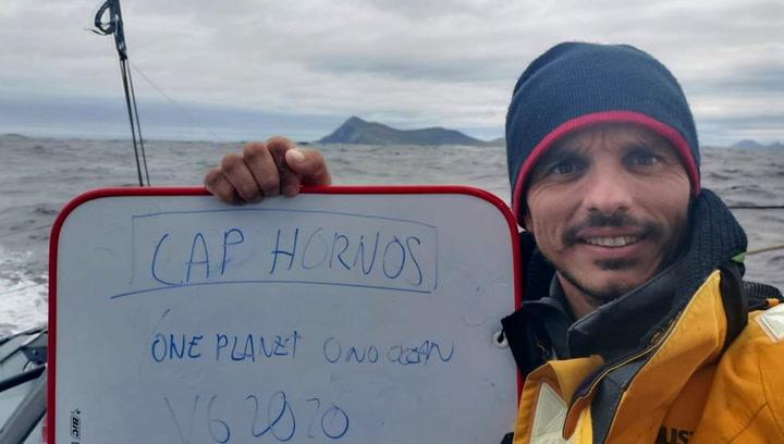 Didac Costa dobla el mítico Cabo de Hornos