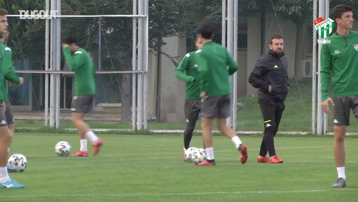 Bursaspor'da Adanaspor Hazırlıkları