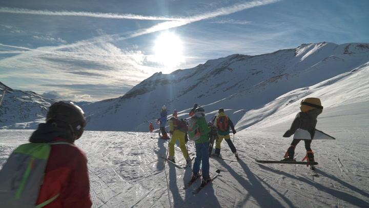 """Récord de esquiadores y ambiente en la Audi quattro Cup en el XXIV Trofeo """"El Pitarroy"""" de Cerler con más de 370 inscritos"""