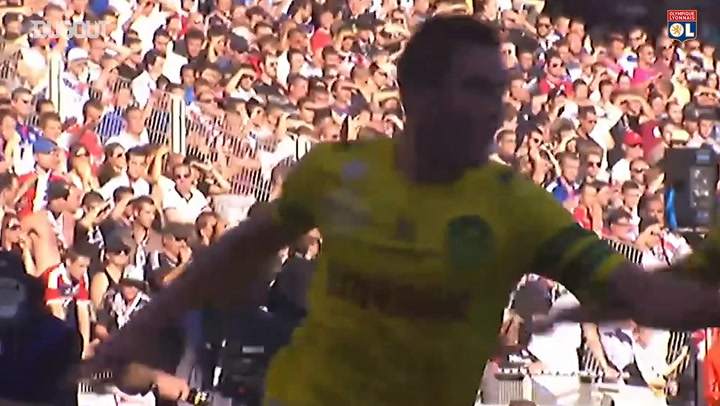 Gomis and Grenier sink Nantes in 2013