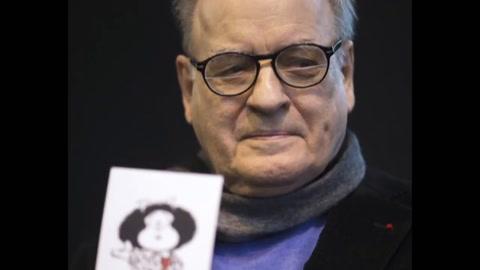 Murió el dibujante argentino Quino, autor de Mafalda