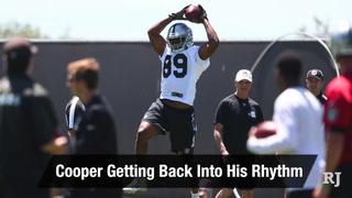 Vegas Nation: Amari Cooper is finding his rhythm