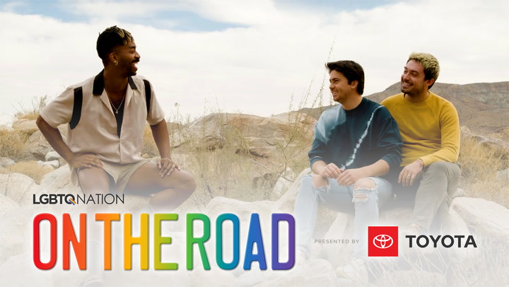 LGBTQ Nation's ON THE ROAD: Joshua Tree with Alex