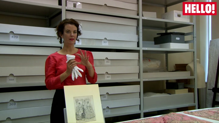 Senior curator of the palace, Deirdre Murphy, talks us through Queen Victoria\'s fashion