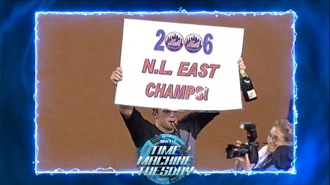 Time Machine Tuesday: The Mets claim the NL East in 2006