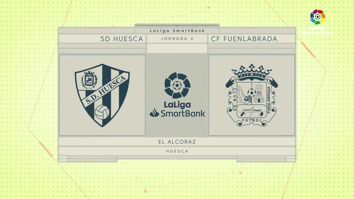 LaLiga SmartBank (J6): Resumen y goles del Huesca 0-0 Fuenlabrada
