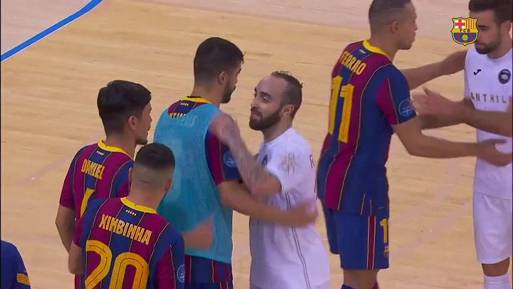 Futsal Champions League 2020-2021: Las mejores jugadas del Barça-ACCS (2-1)