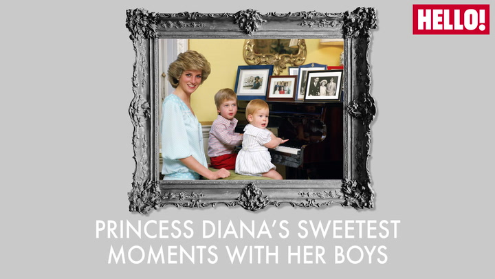 Princess Diana\'s Sweetest Moments With Her Boys