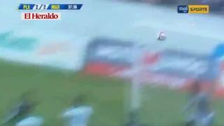 Platense y Marathón empatan 2-2 en el estadio Excélcior