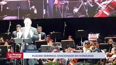 Plácido Domingo, ovacionado en Honduras en su primer concierto de 2019
