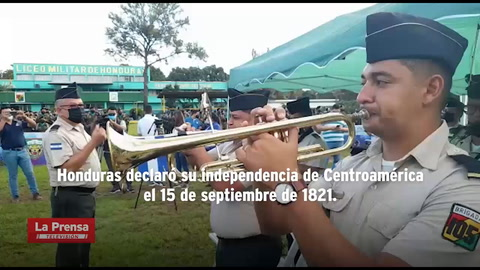 Honduras comienza celebraciones del Bicentenario este 15 de septiembre