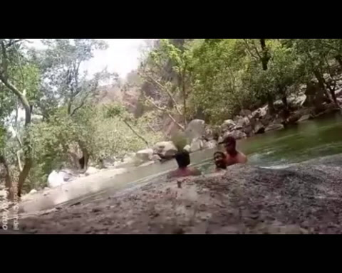 Filman con su teléfono móvil cómo se ahogan en un estanque