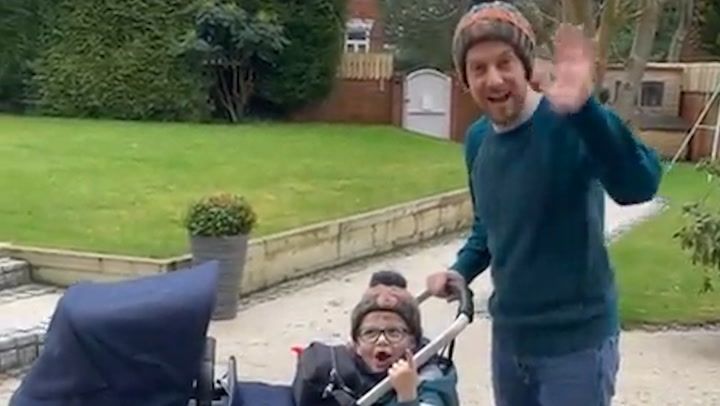 Chris and Rosie Ramsey\'s son expresses excitement over baby brother in adorable video