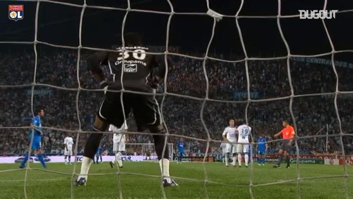 Juninho's stunning free-kick vs Marseille in 2009