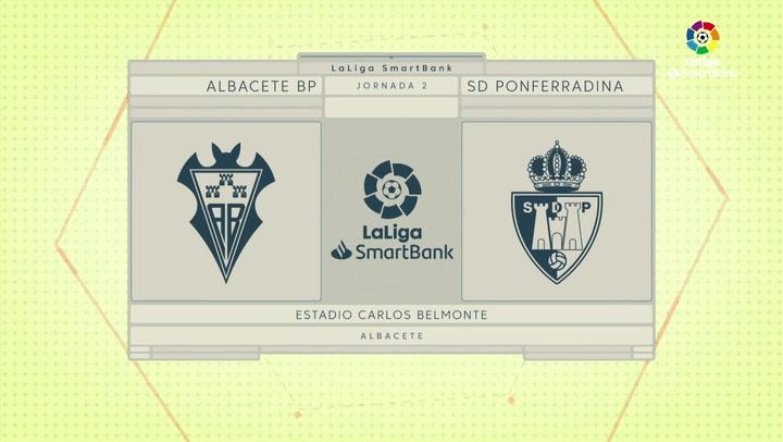 LaLiga Smartbank (Jornada 2): Albacete 0-2 Ponferradina