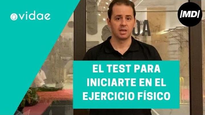 El test que siempre deberias pasar si te quieres iniciar en la practica de ejercicio fisico