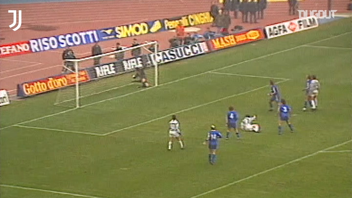 Salvatore Schillaci's incredible bicycle kick vs Hellas Verona