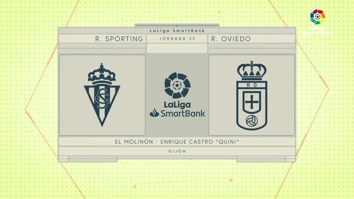LaLiga smartBank (J35): Resumen y gol del Sporting 0-1 Oviedo