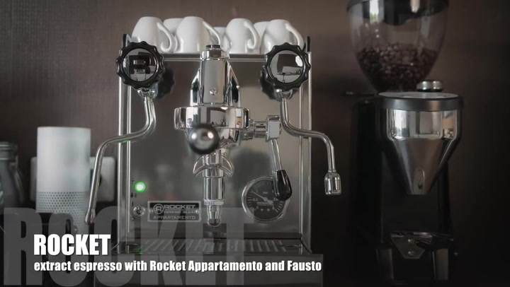 Preview image of Extract Espresso With Rocket Appartamento video
