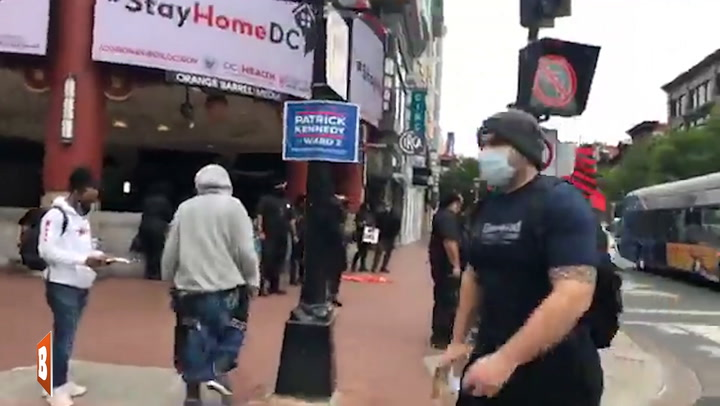 'Chinatown, We're Shutting It Down!': New Black Panthers Protest in D.C. to 'Sanction Chinese Merchants'