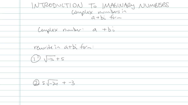 Introduction to Imaginary Numbers - Problem 6