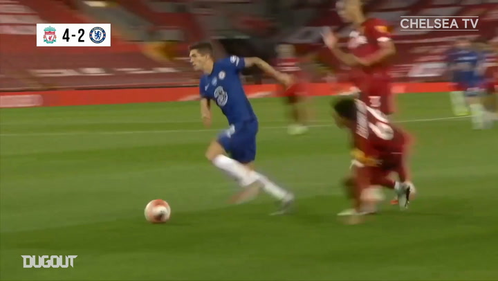 Pulisic's goal and assist at Anfield