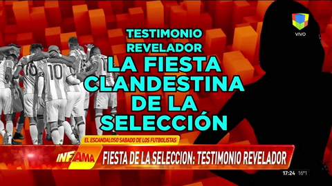 Escandalosa fiesta de jugadores de la Selección en la previa del partido con Venezuela