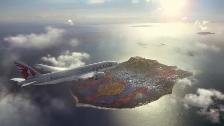 Así era el anuncio del FC Barcelona Qatar Airways