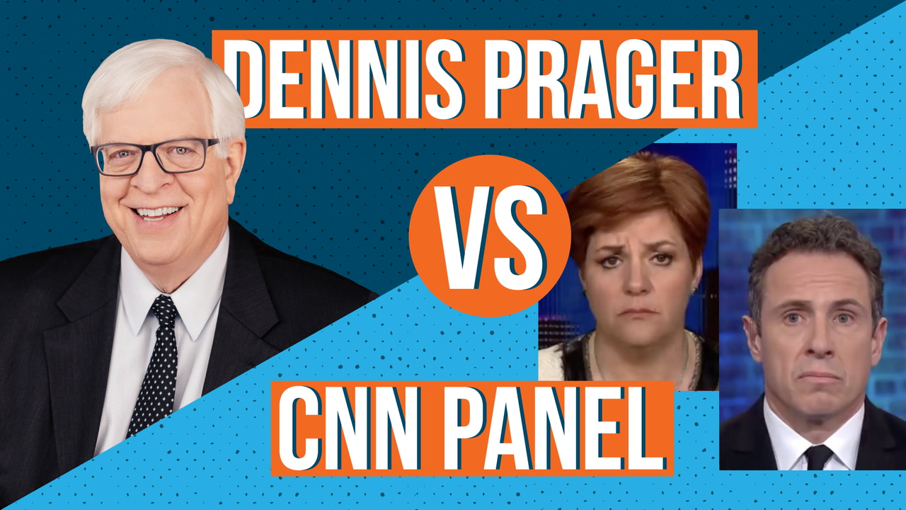Dennis Prager vs CNN Panel on Abortion