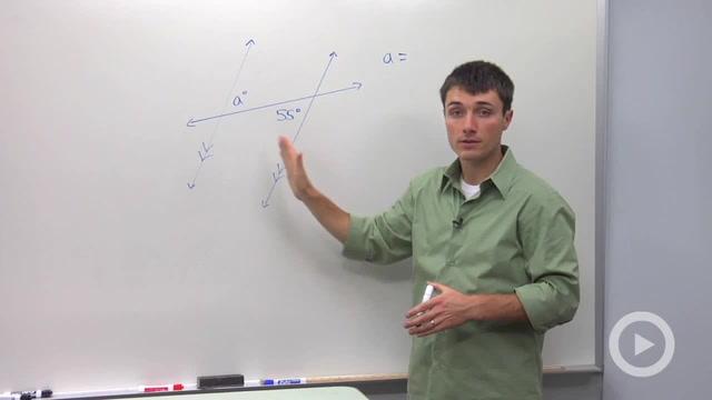 Alternate Interior Angles - Problem 1