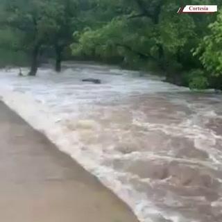 Dos hermanos mueren arrastrados por un río en Langue, Valle