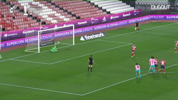 Atlético beat FC Barcelona on penalties in the Spanish Women's Supercup semi-finals