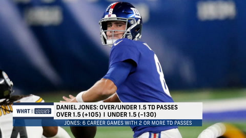 What are the odds on Jones and Darnold TD passes in Week 2?