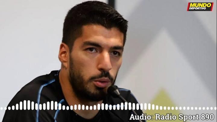 "Luis Suárez: ""Se dijeron cosas que duelen"""