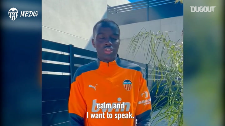 Mouctar Diakhaby's message