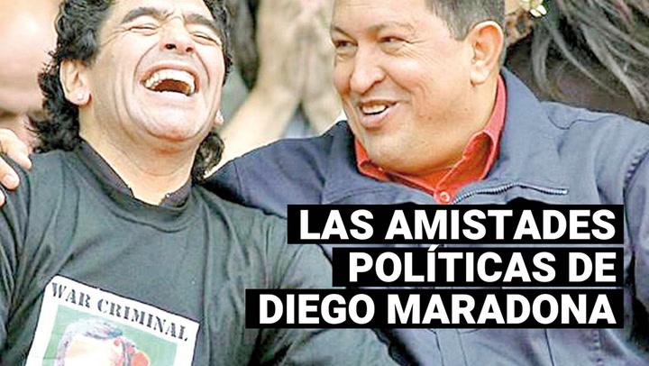 Así fue la amistad de Diego Maradona con Fidel Castro, Hugo Chávez y Nicolás Maduro