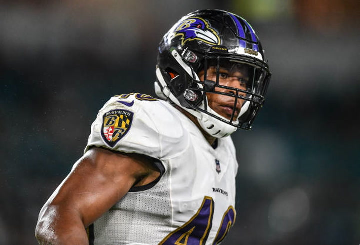 Rams trade CB Marcus Peters to Ravens for LB Kenny Young and draft pick