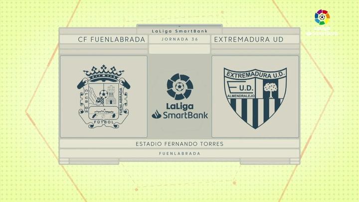 LaLiga Smartbank (Jornada 36): Fuenlabrada 1-1 Extremadura