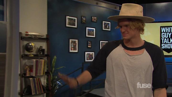 Cody Simpson Tries to Get Scandalous on 'White Guy Talk Show'