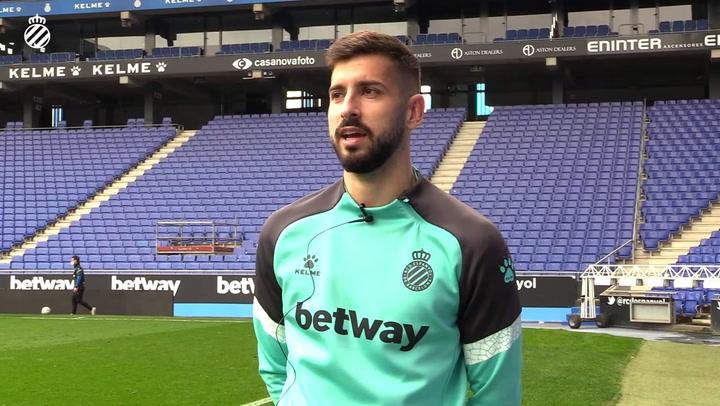 Vadillo habla de que el Espanyol debe hacerse fuerte en casa