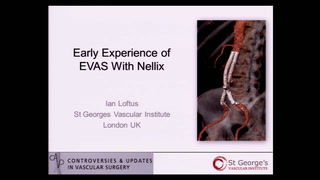 Early experience of EVAS with Nellix